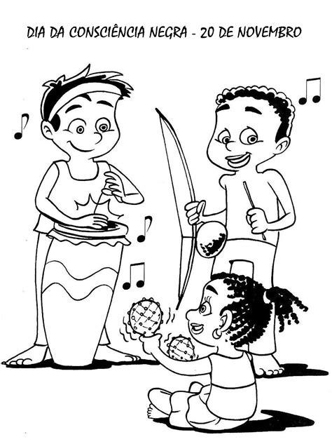 imagenes para pintar niños de dos años dia da consci 202 ncia negra 50 atividades exerc 205 cios desenhos