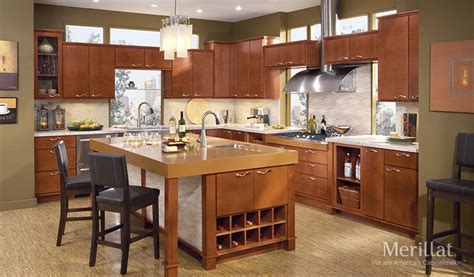 merillat kitchen islands merillat classic 174 fusion in maple merillat