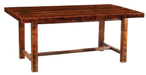 barnwood farmhouse 42 quot artisan top rectangular dining