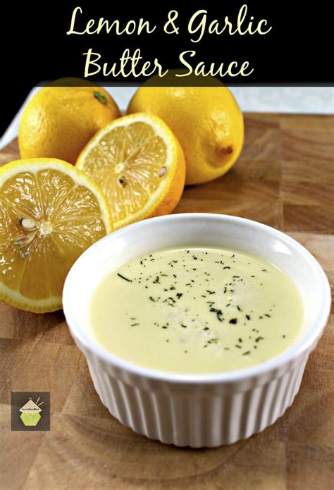 Lemon Beurre Blanc Recipe by Lemon And Garlic Butter Sauce Lovefoodies