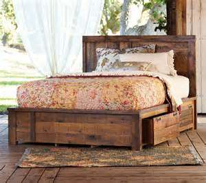 Rustic Platform Bed With Storage Beautiful Oh Dirt Roads Rustic Bed Rustic