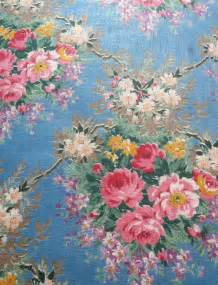 Shabby Chic Curtain Material Flowers In Flowerspictures English Rose Fabric In Chintz