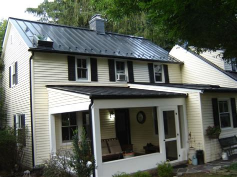 matte black house matte black standing seam metal roof ideas for the house pinterest metals black
