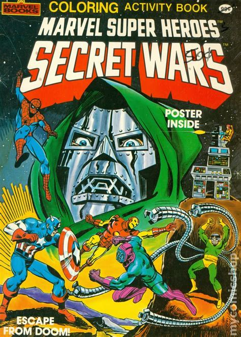 marvel super heroes secret comic books in secret wars 1984