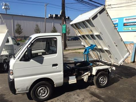 Suzuki Carry 4x4 Mini Truck For Sale Japanese Mini Truck 1991 Suzuki Carry 4x4 Dump 8k
