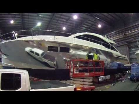boat vinyl wrap youtube chrome vinyl marine boat wrap on gran turismo fairline 58