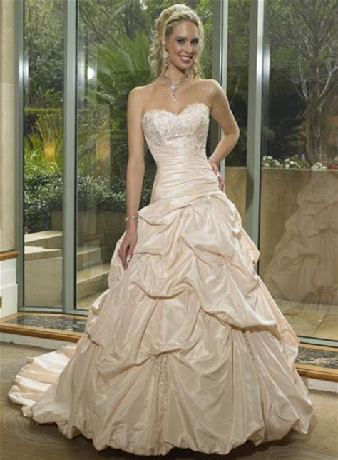 Hochzeitsschuhe Chagner by Chagne Color Wedding Dresses Pictures Ideas Guide To