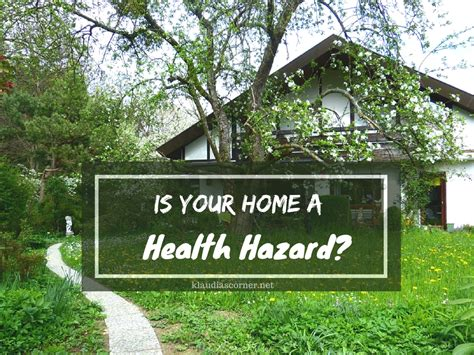 is your home a health hazard tips for a healthy living