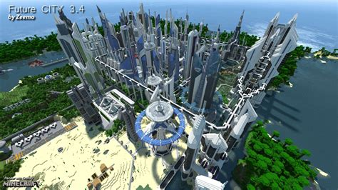 Home Landscape Design Download by Future City 3 4 Minecraft Building Inc