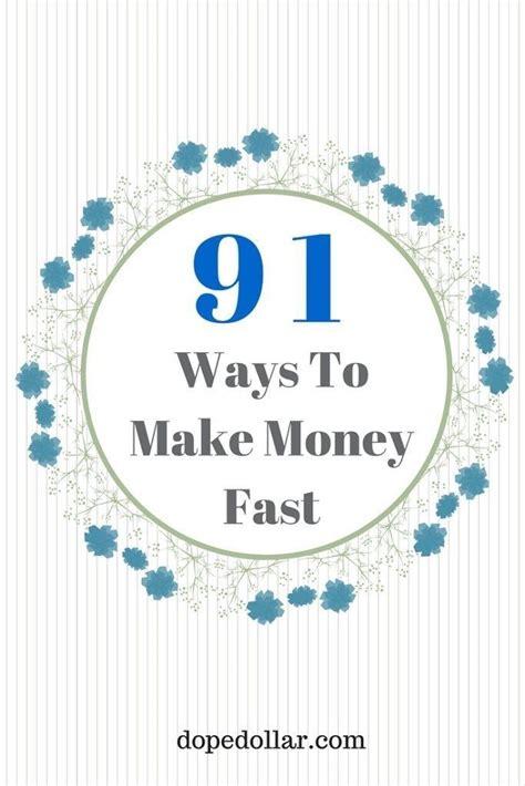 17 best ideas about money fast on earn money