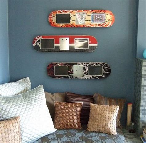 skateboard bedroom decor 25 functional furniture designs inspired by skateboards