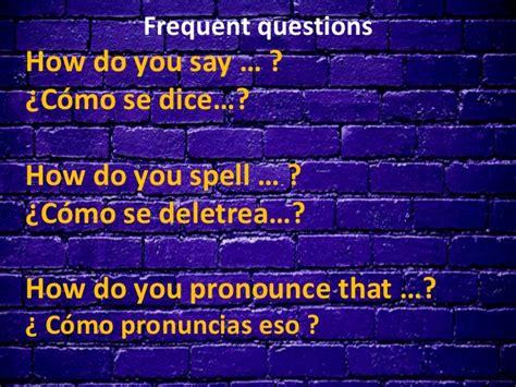 preguntas en ingles how are you lesson 3 preguntas b 225 sicas