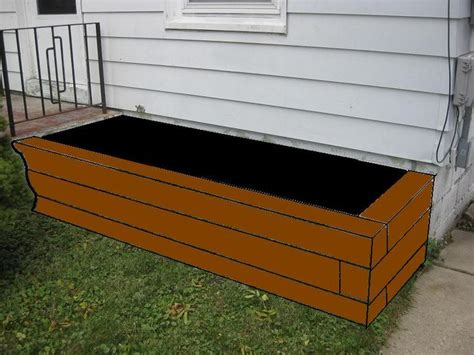 Building A Planter Box Against House by Brick Raised Vegetable Beds Raised Planter Bed Against