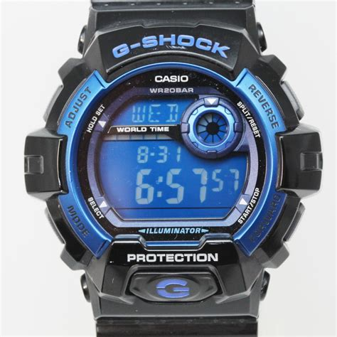 Gshock W01s Black L Blue s casio black and blue g shock property room