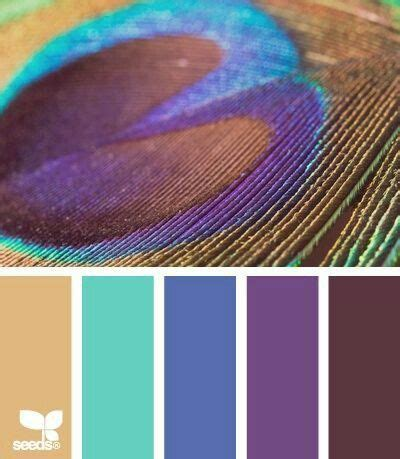 peacock color scheme bedroom peacock blue purple and more colour color palette