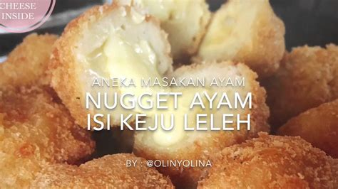 youtube membuat nugget resep cara membuat chicken nugget with cheese inside