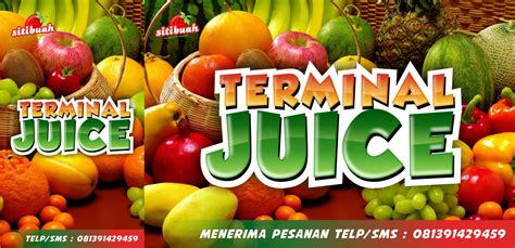 Desain Banner Jus Buah | desain banner gerobak jus buah jasa desain grafis murah