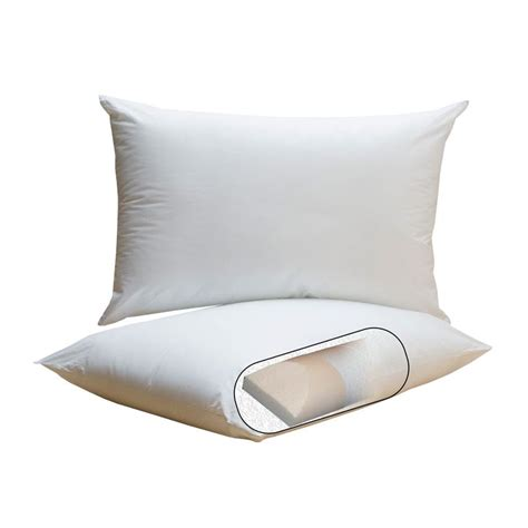 Feather Pillow by Pf Feather Pillow Cervical Support Pillows