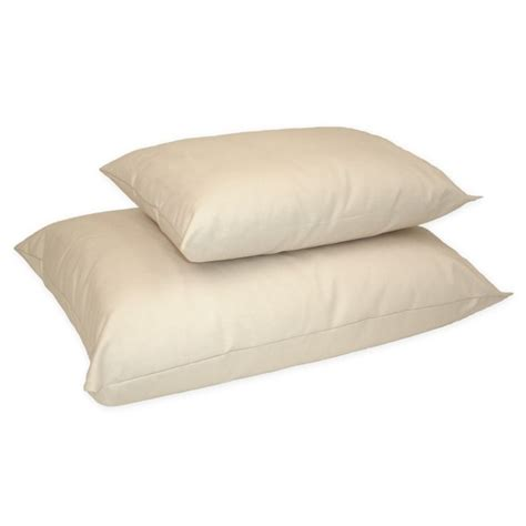 organic bed pillows naturepedic organic cotton kapok junior size pillow