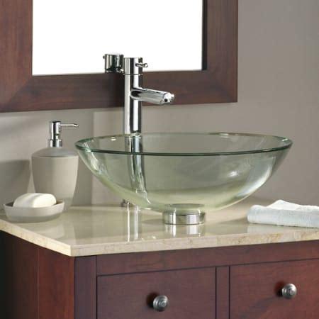 American Standard Vessel Sinks by American Standard 0978 000 200 Clear Dorian Glass 17