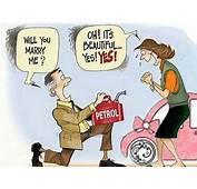 Funny Proposal  Petrol Cartoons Impact