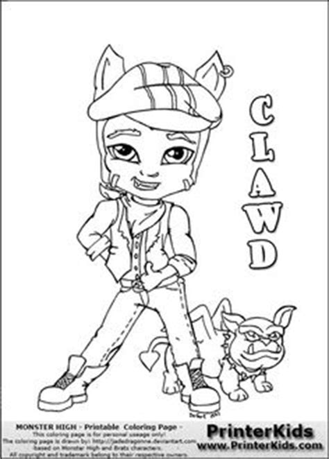 monster high dog coloring pages baby monster high coloring pages monster high howleen