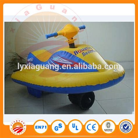 inflatable boat motor battery inflatable motor boat battery powered scooter for kids xg