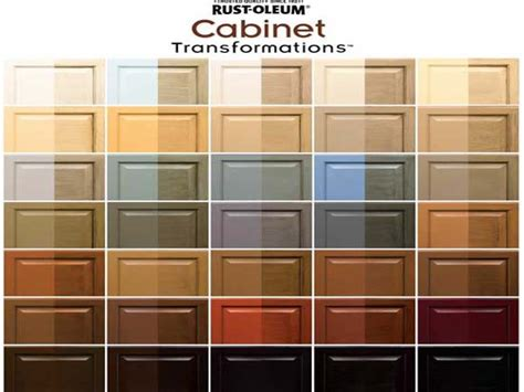 Kitchen Cabinet Paint Rustoleum Colors Rust Oleum Cabinet Transformation Pictures To Pin On Pinterest Pinsdaddy