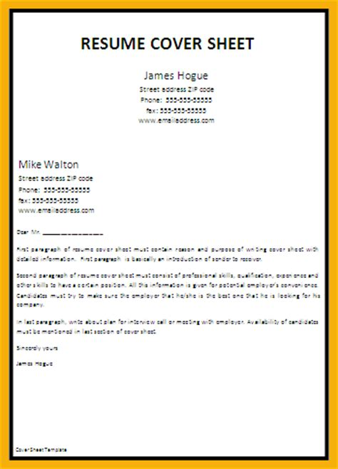 Letter Cover Page 6 Resume Cover Page Bursary Cover Letter