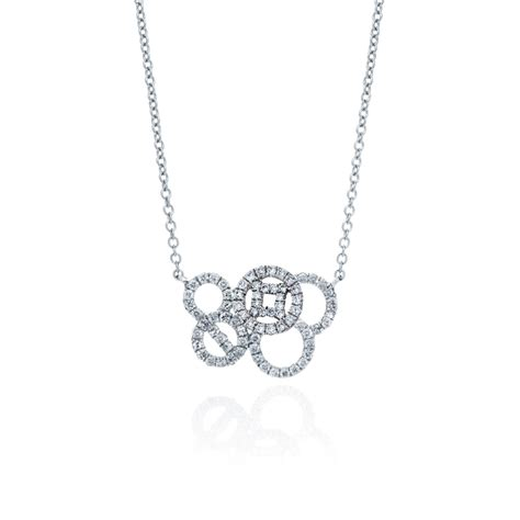 Multi Circle Necklace coin multi circle necklace why jewellers