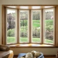 Pella Bow Window pella bow window with casement no grids inside