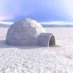 Igloo House 3d Eskimo Igloo House Model