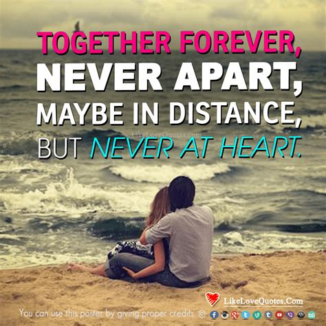 images of love together forever long distance quote together forever never apart may