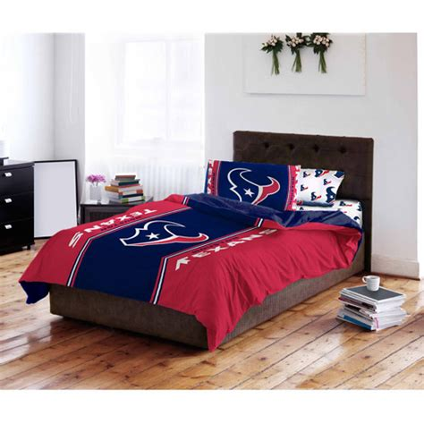 texans comforter nfl houston texans bedding set walmart com