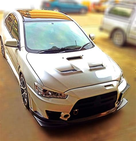 My Car Lancer Ex Was Modified To Evo Fq 400 Car
