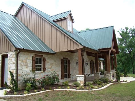 hill country house plans metal roof studio
