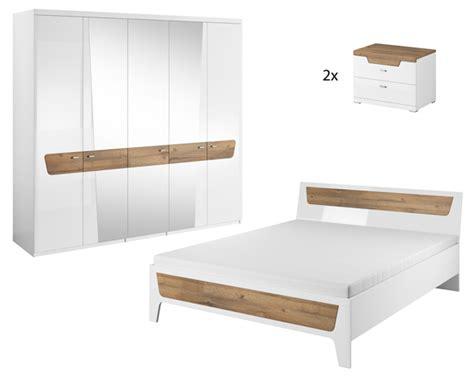 Schlafzimmer Weiss Glanz by Schlafzimmer Set Komplettschlafzimmer Schlafzimmer Wei 223