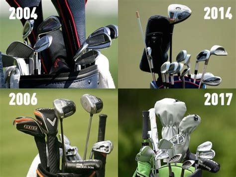 a look at phil mickelsons hair over theyears phil mickelson s golf equipment through the years