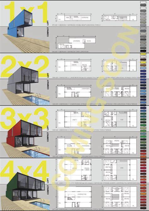 Small One Bedroom Apartment Floor Plans by La Arquitectura Con Contenedores An 225 Lisis Ventajas Y
