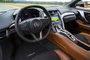 Acura Nsx Interior 2017 Acura Nsx Interior Price Specs Colors