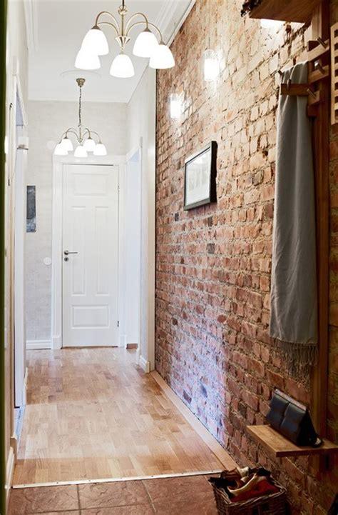 elegant modern  classy interiors  brick walls