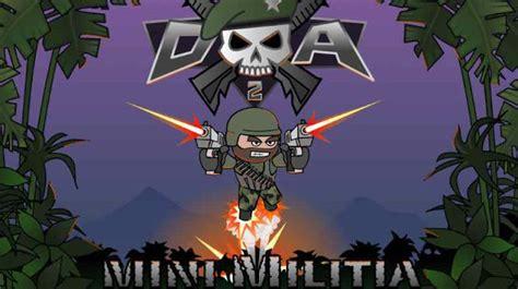 doodle army apk doodle army 2 mini militia mod apk mega unlocked free