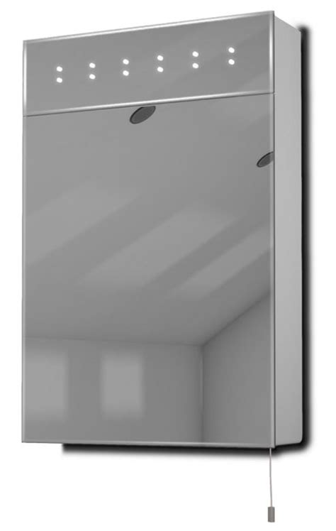 Battery Bathroom Mirror Buy Sheva Led Illuminated Battery Bathroom Mirror Cabinet With Pull Cord K141 From Our Bathroom