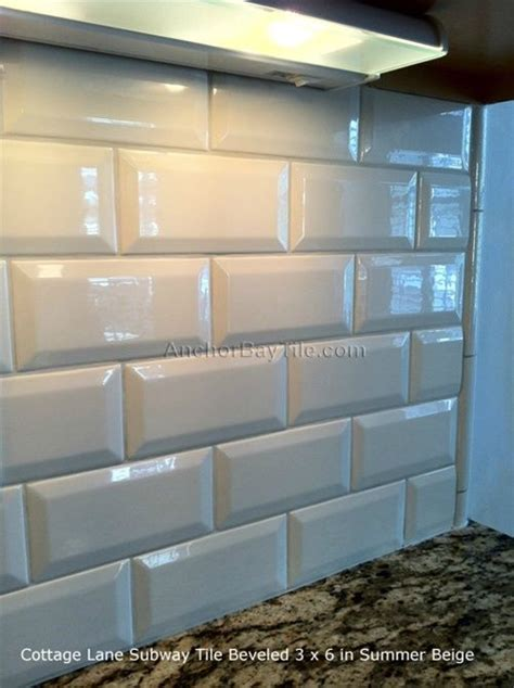 subway tile edges images  pinterest subway tiles beveled subway tile  wall tile