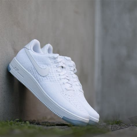 Nike Air 1 Flyknit Low White nike air 1 ultra flyknit low white white