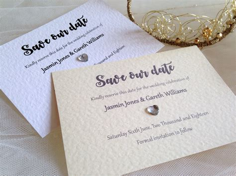 Save The Date Cards by Save The Date Cards Etiquette Chain Invites