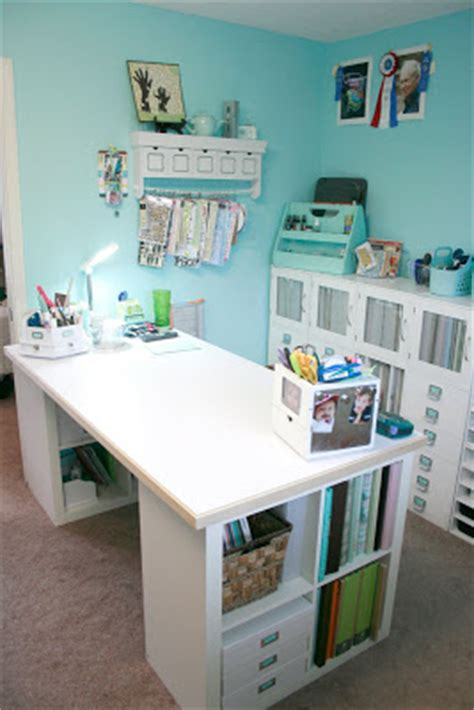 craft room desks why yes i should be doing something else ha my craft