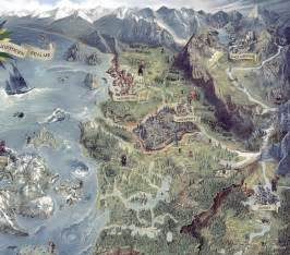 The Witcher World Map by New Info For The Witcher 3 Wild Hunt A Look At Its World
