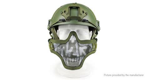 Wosport Masker Airsoft Gun 9 59 wosport v1 tactical unisex protective half mask authentic for airsoft bb gun cs