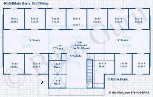 barn floor plans with living quarters barn plans vip equestrian living quarters